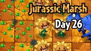 Plants vs Zombies 2 - Jurassic Marsh Day 26: Dave