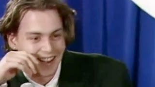 Johnny Depp & Winona Rider Interview (1990)