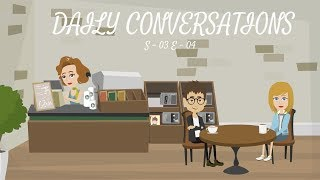 Learn English Conversation - 04 (Season - 03) | Daily English Conversations