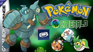 Pokemon Emerald Omega UNOVA Para Android Hackrom My Boy! GBA PC