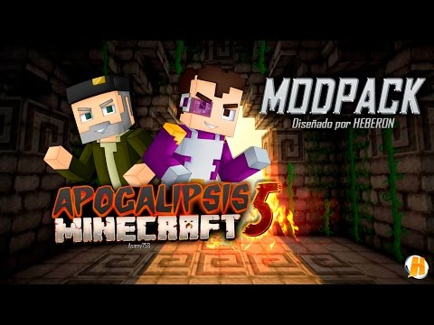 APOCALIPSIS MINECRAFT 5   Modpack 1.7.10   Server   @HeberonYT