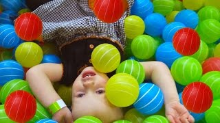 Indoor Playground Family Fun for kids with Spelling - Ball Pits, Inflatables, Trampolines, Slides