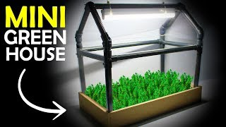How To Make a MINI GREENHOUSE At Home | Diy Project