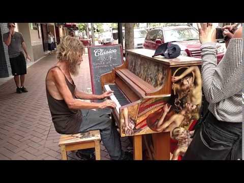 Newcastle Homeless Man Homeless Florida Man Plays