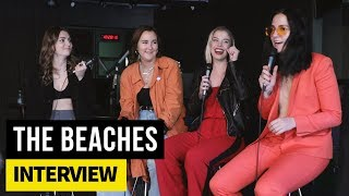 The Beaches on weird DMs, who will live the longest and their new EP, The Professional