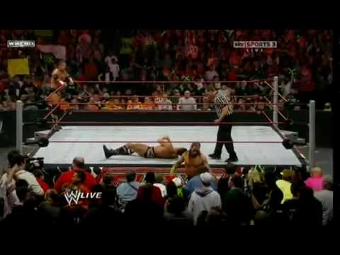 WWE Raw 1/25/10 DX vs Legacy Part 1/2 HQ Video