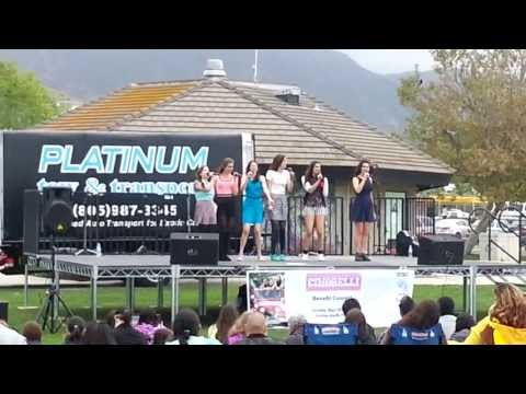 Cimorelli- Unwritten(Cover) Live at the Malibu Bluffs Park Benefit Concert