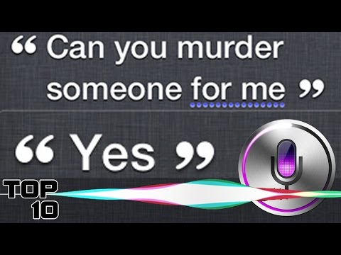Top 10 Dumbest Things Siri Says
