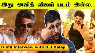 Funfil Interview with R.J Balaji
