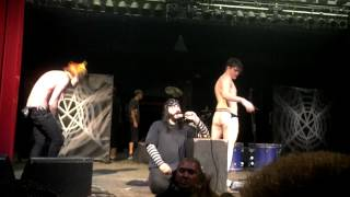 Jonny Dancing Naked On Stage At The MSI Show - Tempe, AZ