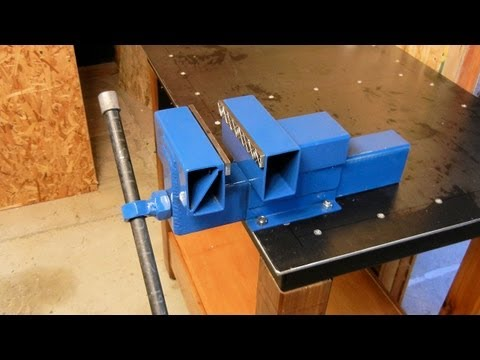 Homemade Bench Vise