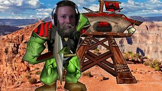Warcraft 3 - Last Man Towering (4v4 RT #77)