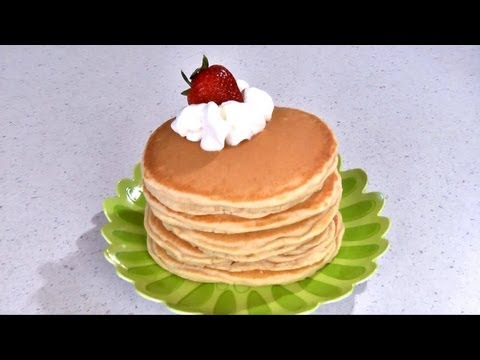 How to Make Homemade Pancakes -- Pancake Recipe