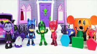 #PJ Masks Toys Visit Vampirina's Scare B & B Playset for Halloween Learning Fun