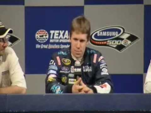 Carl Edwards Wins Texas Shootout - Samsung 500 Recap