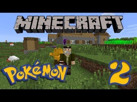 Pikachu Espachurrao!! POKEMON En MINECRAFT 1.4.5 | Pixelmon Ep.2 | - Minecraft Mod