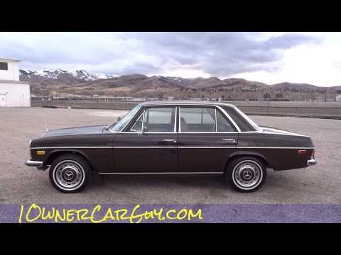 1973 mercedes 220 w115 w114 1 owner for sale 220s se mint for Mercedes benz w115 for sale