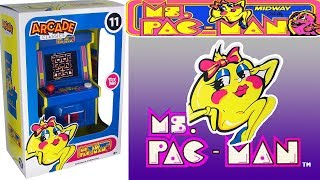 Mini Arcade Classic Series - MS. PAC-MAN Part #9 w/Arcade Intro