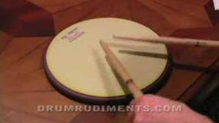 Drum Rudiments #4 - Multiple Bounce Roll - DrumRudiments