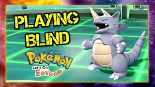 Pokemon Lets Go Pikachu and Eevee Doubles Wifi Battle - Playing BLIND