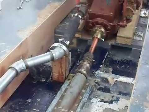 Installing an inboard motor in a small boat update 6 of 13 for How inboard boat motors work