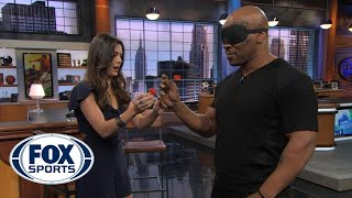 Mike Tyson Throwing Darts Blindfolded
