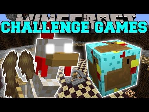 Minecraft: MUTANT TURKEY CHALLENGE GAMES - Lucky Block Mod - Modded Mini-Game