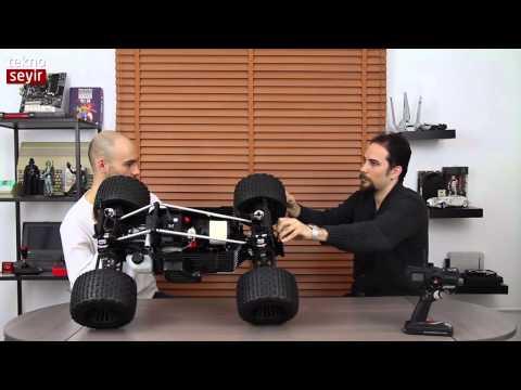 Türk tasarım ve üretimi MCD Racing 4WD Monster İncelemesi