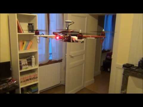 First flight with my DJI Flame Wheel F450 with NAZA-M and GPS