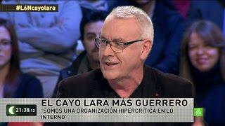 """Cayo Lara: """"Hay una leyenda urbana en torno a la división interna de IU"""""""
