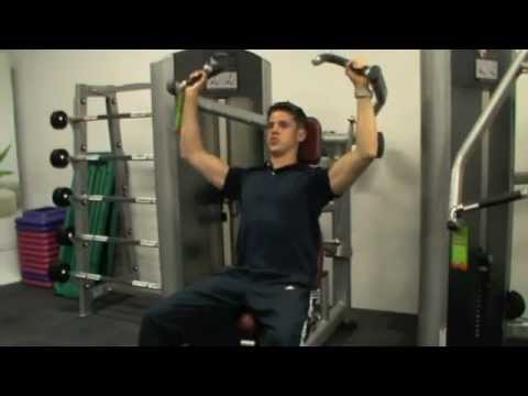 How To: Shoulder Press (Life Fitness Machine) Image 1