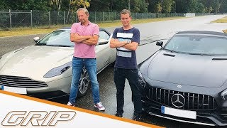 Luxus-Roadster im Duell | DB11 Volante vs. AMG GT C | GRIP