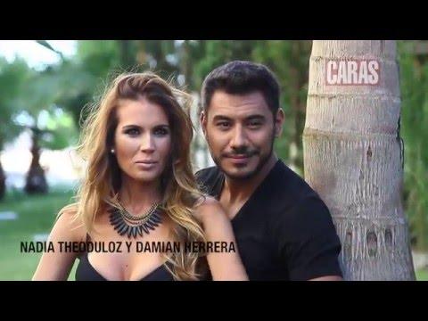 Damian Herrera y Nadia Theoduloz en CARAS Uruguay de Marzo 2016