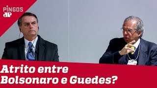 Imprensa tenta criar atrito entre Bolsonaro e Guedes?