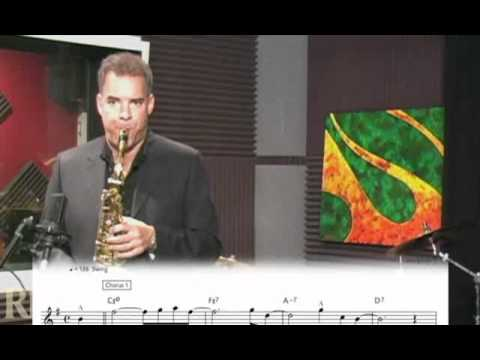 Jim Snidero with a Lesson on Jazz Improvisation - Vocabulary