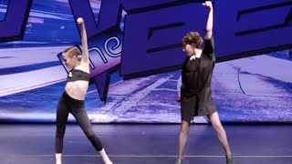Elliana & Gianina's Duet (Judge Gia) | Dance Moms | Season 8, Episode 8