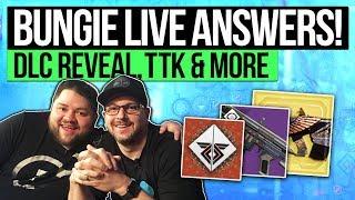Destiny 2 News | BUNGIE LIVE Q&A! New Subclasses, April DLC Stream, Special Weapons & Random Rolls!