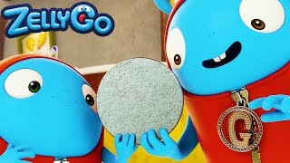 ZellyGo - Coin Size | HD Full Episodes | Funny Cartoons for Children | Cartoons for Kids