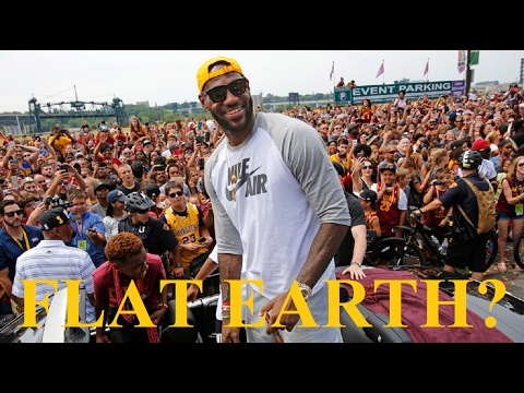 Lebron James asks Kryie Irving about Flat Earth - Video - Mark Sargent ✅