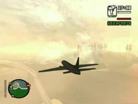 GTA San Andreas AT-400: Las Venturas - San Fierro