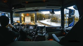 CV Driving Scania S520 - Stopped for inspection