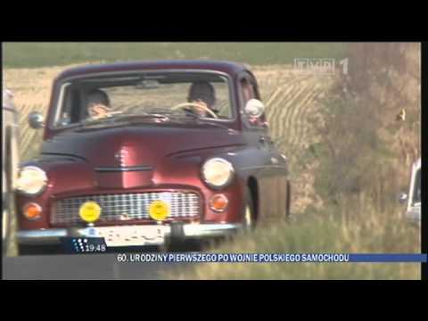 60 Urodziny Polskiego Samochodu Warszawa - Wiadomości (główne Wydanie) 6.11.2011