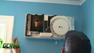 Mitsubishi Electric Lossnay VL 50 miniventillasjon montasjevideo
