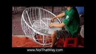 Ghế giả Mây Minh Thy | Sản xuất Bàn Ghế Giả Mây MT2A92 kiểu đan mắt cáo