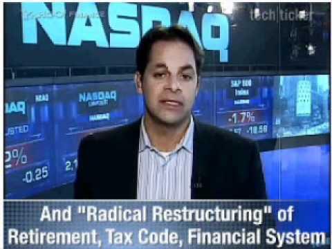 Kotlidoff on Yahoo Financial tech ticker - 202 trillion dollar debt