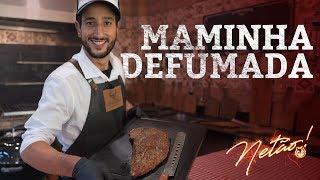 Como fazer Maminha defumada na Churrasqueira   Netão! Bom Beef #24