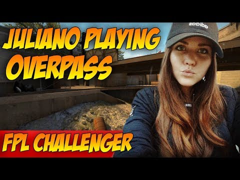 CS:GO   juliano playing FPL challenger on Overpass (02.08.2017)