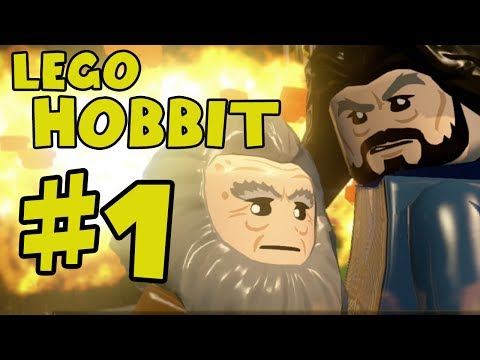 Lego The Hobbit Walkthrough Part 1 - There And Back Again -...