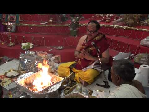 Chandi Homam -10 (3rd-4th Chapters - Mahishasura Vadham + Shakaradaya Stuthi) June 04th 2011 video