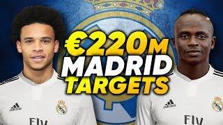 Real Madrid Make Leroy Sane & Sadio Mane Top Transfer Targets! | Transfer Review